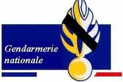 Gendarmerie Nationale en deuil