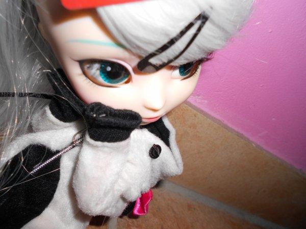 séance photo de Miku avec son obitsu ! -enfin !