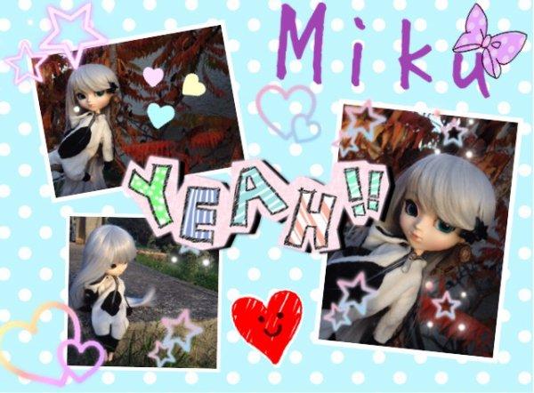 Bonus : purikura de Miku !