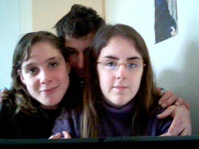 moi, ma besta et ma marmotte ^^