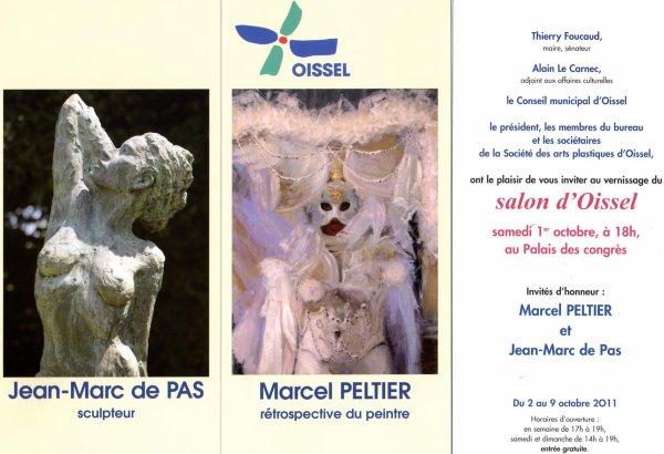 Salon 2011 de peinture et scuplture de Oissel (76).