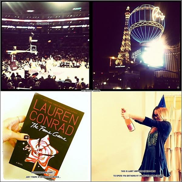Voici 4 photos récemment postées par Lauren sur son Twitter.