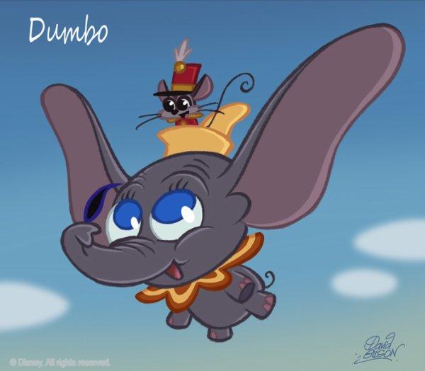 Unn éléphant volant...