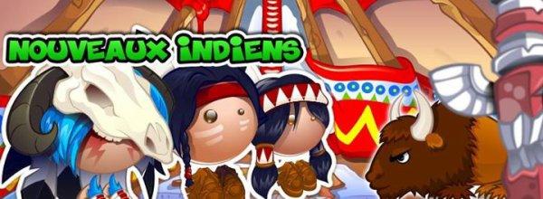 3 nouveaux Indiens !!!