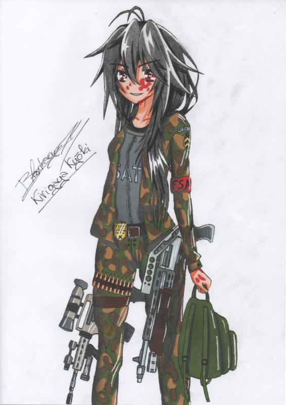 ☆☆☆ Personnage Inventé: Sergent-Chef Kirigaya Kyōki ☆☆☆