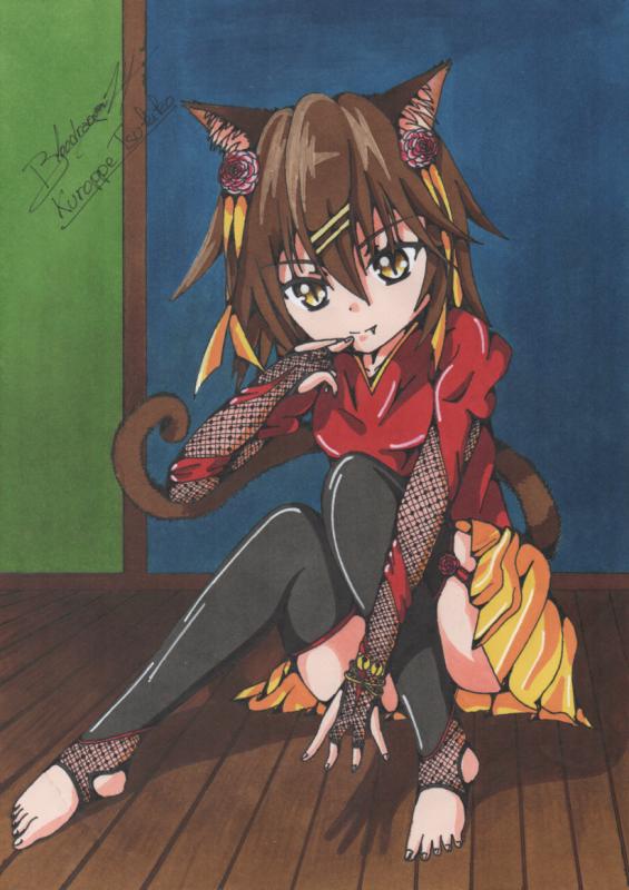 ☆☆☆ Personnage Inventé: Kuroppe Tsukiko ☆☆☆