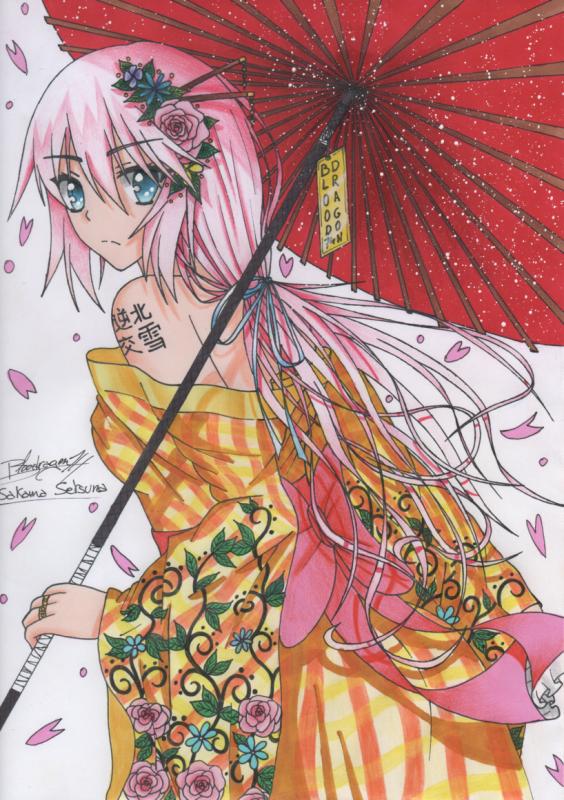 ☆☆☆ Personnage Inventé: Sakama Setsuna ☆☆☆