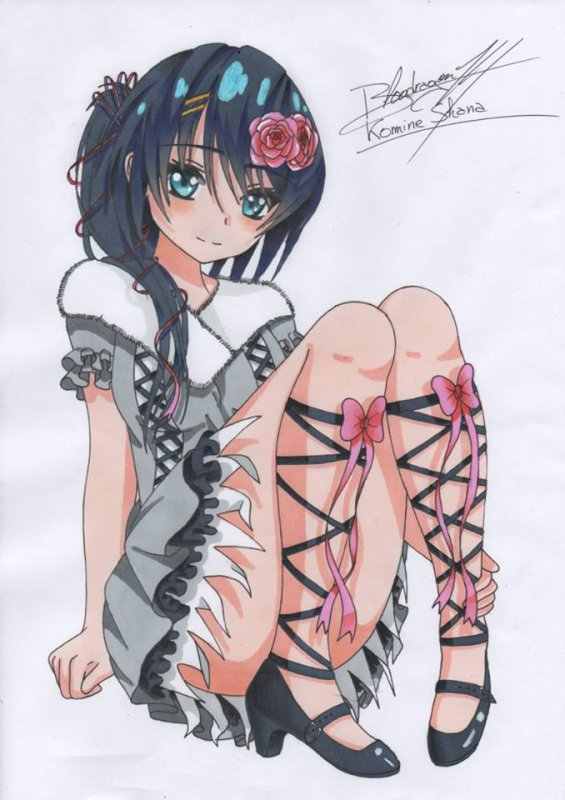 ☆☆☆ Personnage Inventé: Komine Shana ☆☆☆