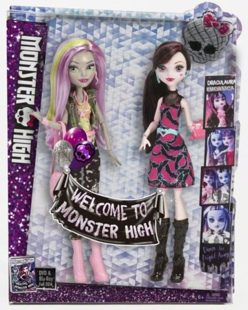 Collection dolls : Welcome to Monster High