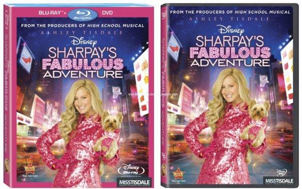 Voilà les couvertures du DVD et Blu-Ray de Sharpay's Fabulous Adventure. Elle est vraiment très belle. La sortie américaine est annoncé pour le 19 Avril 2011.