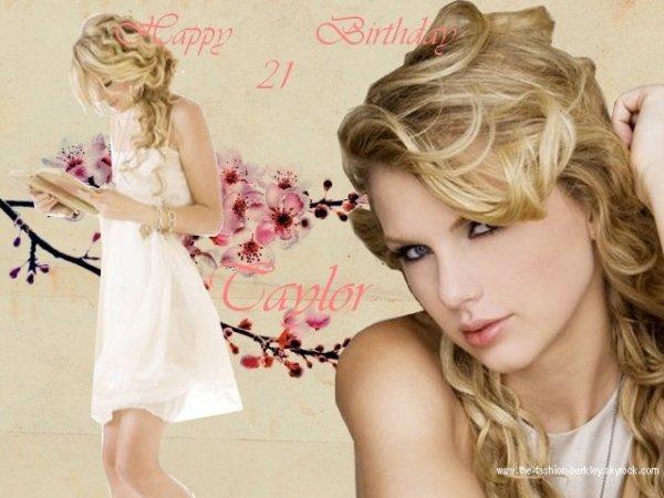 Le 13 Décembre 2010, Taylor a eu 21 ans. Joyeux Anniversaire !!!