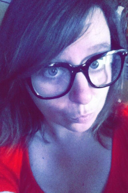 Moi avec les fausses lunettes
