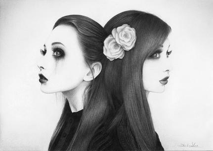 Noir et blanc...