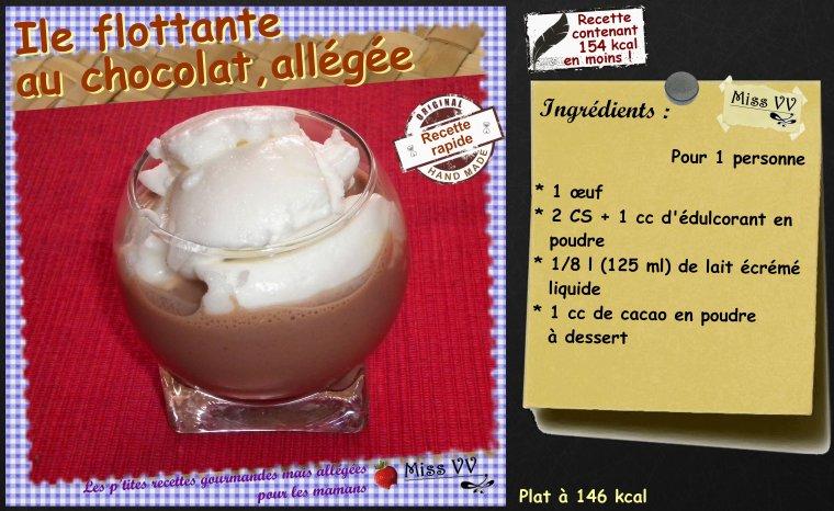 ILE FLOTTANTE VANILLE-CARAMEL ET CHOCOLAT ( POUR LES MAMANS )