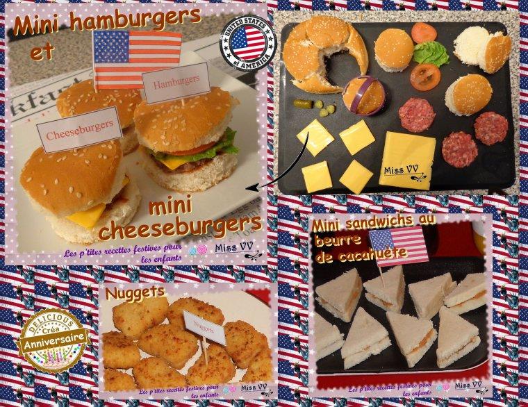 Top ANNIVERSAIRE THEME USA - Les p'tites recettes gourmandes de Miss  AP77