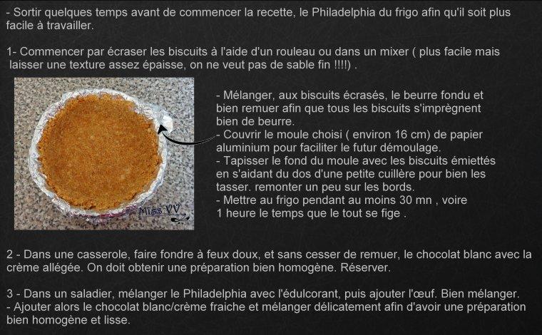 CHEESECAKE AU CHOCOLAT BLANC FACON STARBUCKS, ALLEGE ( POUR LES MAMANS)