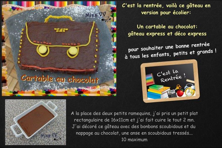GATEAU AU CHOCOLAT, EXPRESS ( POUR LES ENFANTS )