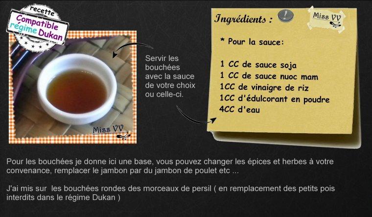 BOUCHEES VAPEUR ( poulet / crevettes / jambon ) SANS PATE ( RECETTE POUR LES MAMANS )