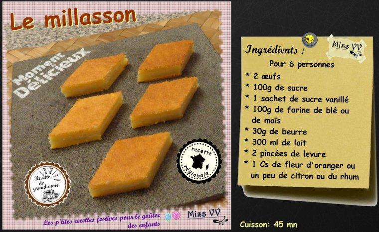 LE MILLASSON ( POUR LES ENFANTS )