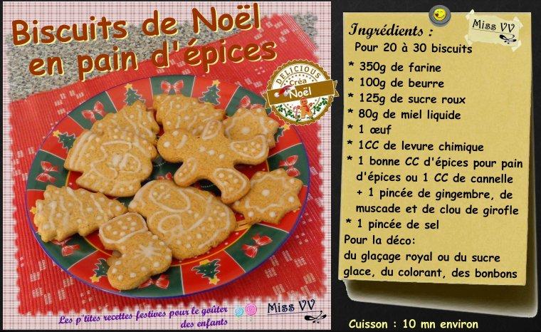 BONHOMMES ET BISCUITS DE NOEL EN PAIN D'EPICES ( POUR LES ENFANTS )