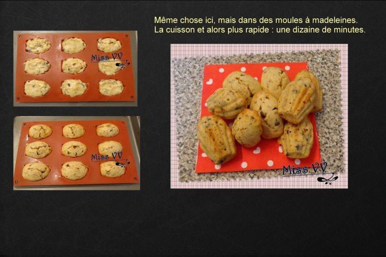 MUFFINS AUX PEPITES DE CHOCOLAT ET SPECULOS ( POUR LES ENFANTS )