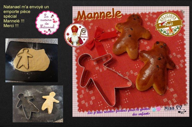 MANNELE de la SAINT NICOLAS ( POUR LES ENFANTS )