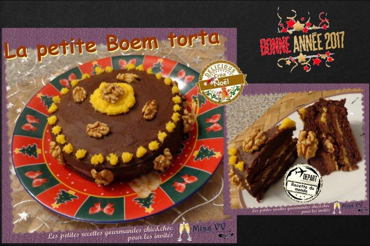 LA PETITE BOEM TORTA ( POUR LES INVITES )