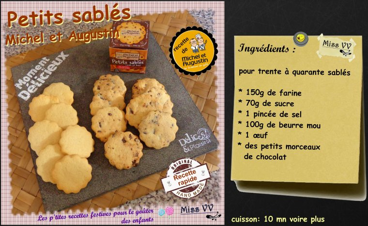 PETITS SABLES Michel et Augustin ( POUR LES ENFANTS )