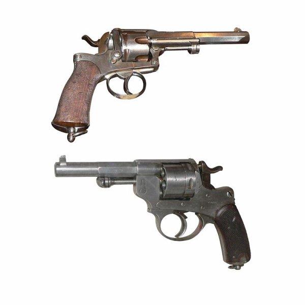 REVOLVER MAS 1873-1874 11 MM ( FRANCAISE )