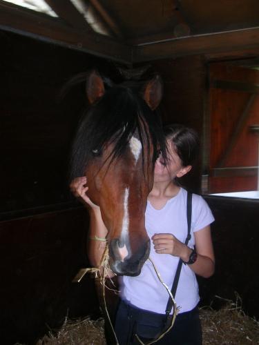 pour ces poneys que j'aime et ces personnes que j'aime