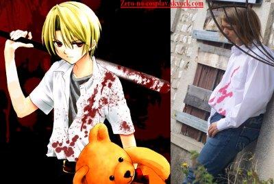 Honjou Satoshi - Higurashi no Naku Koro Ni - Paris Manga 8 ( samedi 12 septembre 2009 )