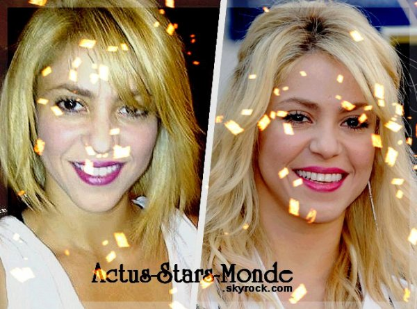 Shakira : elle a abandonné sa longue crinière !