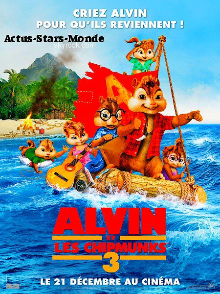 Sortit de film : ALVIN AND THE CHIPMUNKS 3