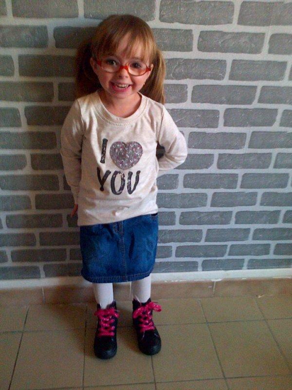 ma niece son premier jour ecole 03/09/2013