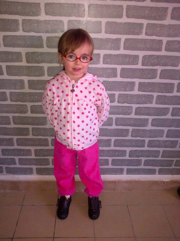 ma niece aujourdhui prete pour lecole
