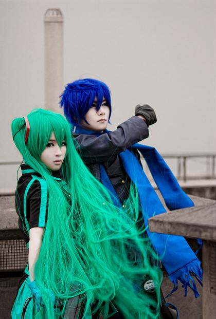 Vocaloid  -  Miku & Kaito