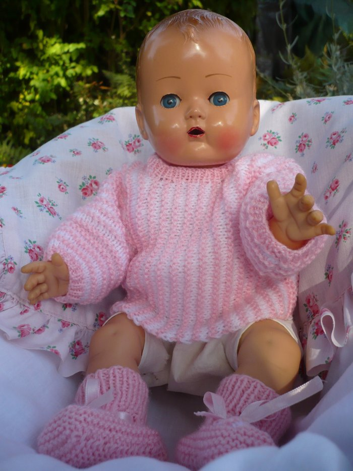 "Bébé Ideal ""Caroline"" ou ""Joëlle"" 1957       33cms"