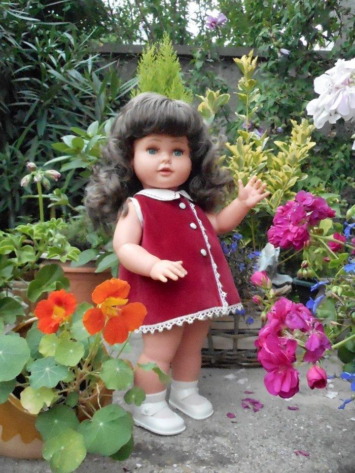 CORINNE 1963 avec sa tenue d'origine