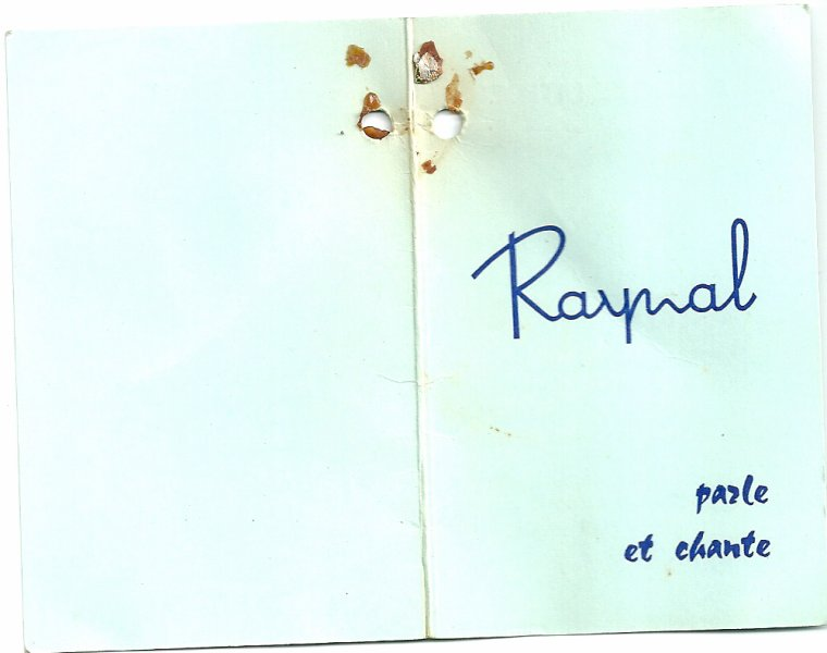 RAYNAL Sylvie  poupée parlante 48 cms  1963