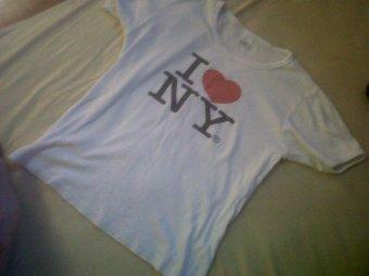 T-shirt I <3 NY