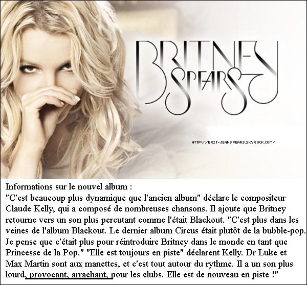 """. Un directeur de radio parle de Britney et de son nouveau hit : """"Ces dernières années, Britney Spears a eu des hauts et des bas. Mais à chaque fois qu'elle sort une nouvelle chanson, c'est un événement dans le milieu. Nous avons souvent tendance à attendre de savoir ce qu'en pensent les auditeurs avant de la rediffuser. Mais sa nouvelle chanson fait partie des rares morceaux, comme California Gurls de Katy Perry ou Raise Your Glass de Pink, qui sont passées en boucle dès la première diffusion. La réaction des auditeurs a été incroyable. C'est un nouveau tube de Britney Spears."""" . Moins de neuf mois après que l'amoureux de Britney Spears, Jason Trawick, eut pris la décision de ne plus être son agent, il vient de signer un contrat avec William Morris Endeavor Entertainment pour réintégrer l'équipe de la chanteuse américaine, selon le UsMagazine.com. Il ne sera toutefois plus seul à piloter la destinée professionnelle de sa douce. Il s'occupera surtout de ses contrats cinématographiques, Brit souhaitant toujours se tailler une place à Hollywood. """"La famille fait confiance à Jason, ils savent qu'il prendra les meilleures décisions pour elle et qu'elle se sent en confiance avec lui"""", a expliqué un proche à UsMagazine.com. ."""