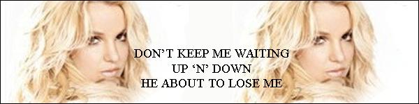 """. Découvre une nouvelle photo promotionnelle de mauvaise qualité : 3 nouveaux extraits à écouter en cliquant dessus ! . Nouveau tweet de Brit : """"@zynga a récolté 1 million de dollars pour l'association @savechildren's au Japon. Aidons-les à atteindre les 2 millions - Brit"""" . Britney devrait enregistrer sa performance pour la célèbre émission The Ellen DeGeneres Show lundi et amener une """"surprise"""" pour une diffusion le 30 Mars. ."""