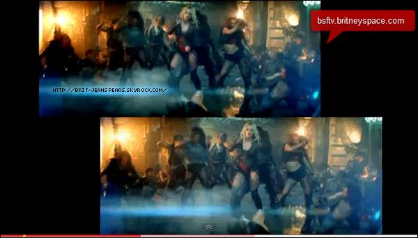 . Le site Billboard vient de révéler que Britney obtient son cinquième numéro 1 dans le classement du Hot 100. Après ...Baby One More Time, Womanizer, 3 et Hold It Against Me, c'est son duo avec Rihanna, S&M, qui prend la pôle position du classement. Le titre s'est vendu à 293 000 copies cette semaine et obtient une audience de 124 millions sur les radios américaines. . Comparez les deux versions du clip TTWE grâce à une vidéo montage ! . Les soldats américains 266 Rein, combattant pour la paix ont organisé une petite pause Britney Spears en s'amusant sur la chanson Hold It Against Me. .