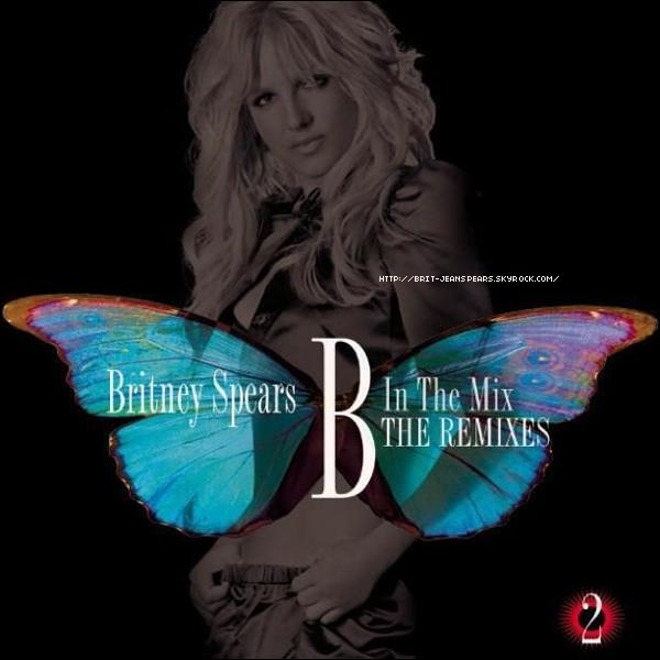 . Sony Music Japan vient de publier la pochette de B in the Mix : Volume 2. Au programme, des versions revisitées des extraits des albums Blackout, Circus et Femme Fatale. . Le titre I Wanna Go vient tout juste de sortir en single physique au prix de 3,99¤. . I Wanna Go s'est classé à la 1ère place des charts Mediabase pour la semaine du 28 août au 3 septembre, ce qui offre par la même occasion à Britney son 6ème titre n°1 sur les radios pop après Baby One More Time, Oops... I Did It Again, Toxic, Womanizer et Circus. .