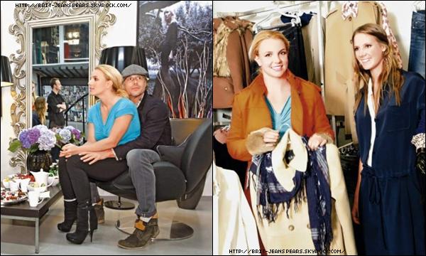 . Britney visite les locaux de Kira Plastinina à Moscou, le 24 septembre. . Elle pose avec un de ses danseurs, Chase Benz et l'équipe de Kiss FM à Londres. . Britney est arrivée à Budapest hier soir en avion. Le concert aura lieu demain soir. .