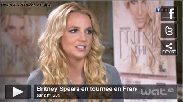 . Découvre ou (re)découvre les passages de Britney dans le Journal Télévisé du 05 octobre à 20h et du 06 octobre à 13h. . + Petite exploration du Femme Fatale Tour Bus avec Sabi en guide improvisé ! .