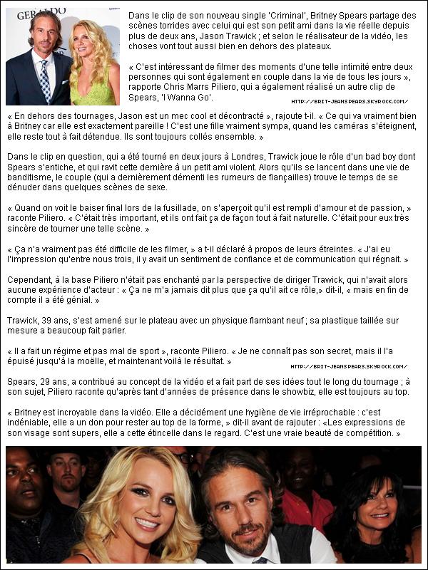""". Nouveau tweet de Britney, accompagné d'une vidéo : """"Encore 9 jours avant la diffusion du Femme Fatale Tour sur @EpixHD ! Je vous donne un extrait de 'Gimme More' dès maintenant… – Brit"""" ."""
