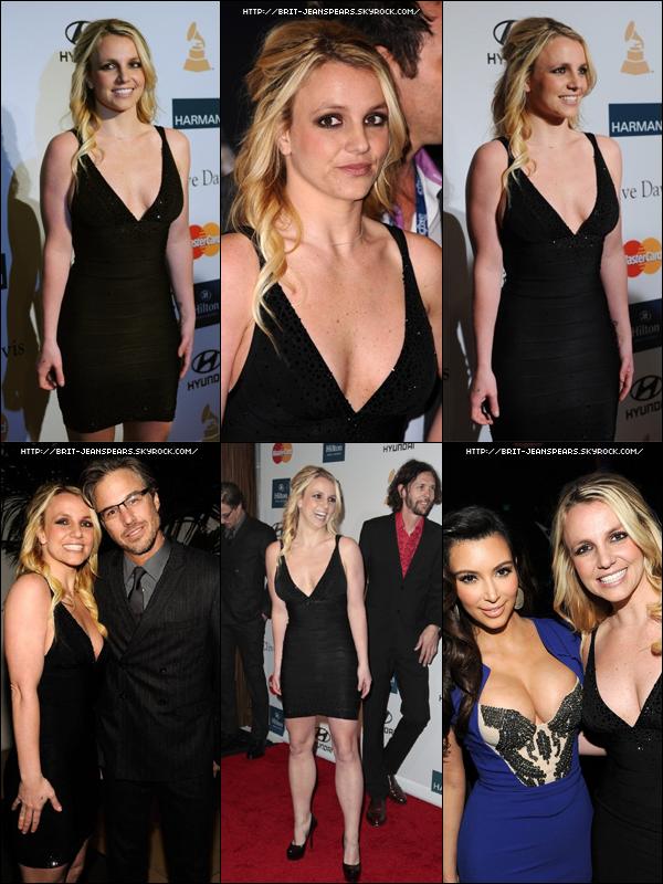 . Britney et Jason étaient à la soirée des Pre-Grammy's 2012, le 11 février. .