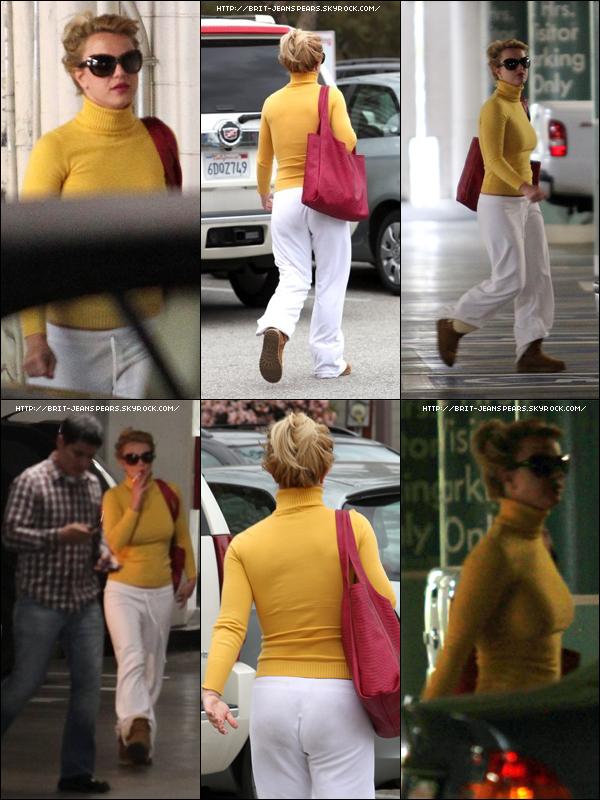 . Britney quittait un rendez-vous qui avait lieu à Los Angeles, le 11 avril. .