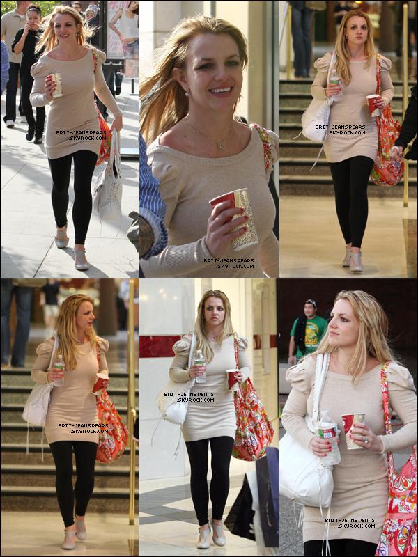 . Britney et Lynne faisaient du shopping à Glendale Galerie à Los Angeles, le 08 mars. .